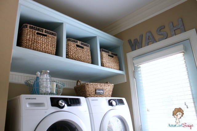 Atta Girl Says: Laundry Room Built In Storage And Organization