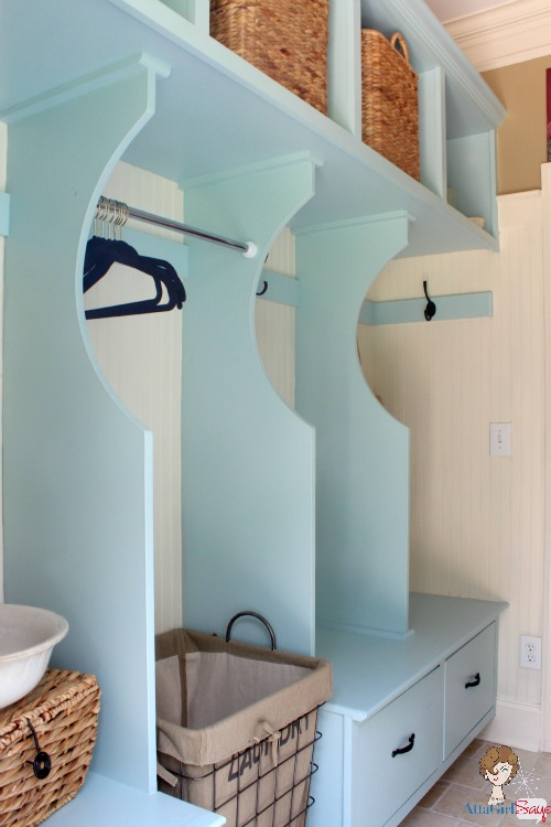 Atta Girl Says: Laundry Room Storage Solution with a Place for Everything