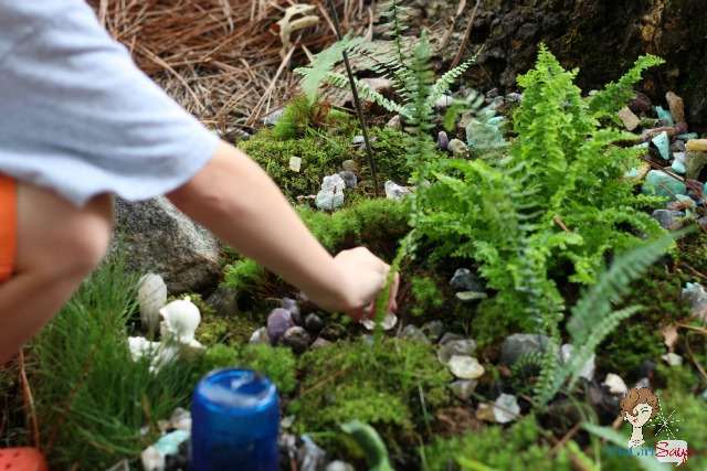 Atta Girl Says: Make a Fairy Rock Garden with Your Kids