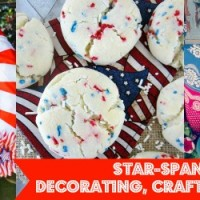 Star-Spangled Home{work} Wednesday: Patriotic Craft, Decorating and Party Ideas for July 4th