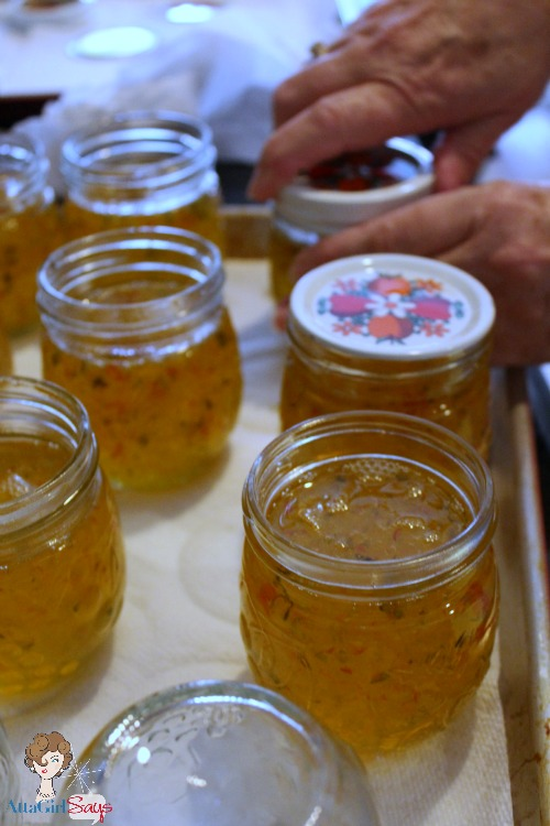 Atta Girl Says: Sealing Jars for Homemade Pepper Jelly Recipe