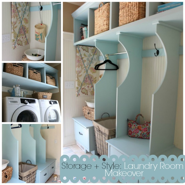 Atta Girl Says: Storage + Style Laundry Room Renovation