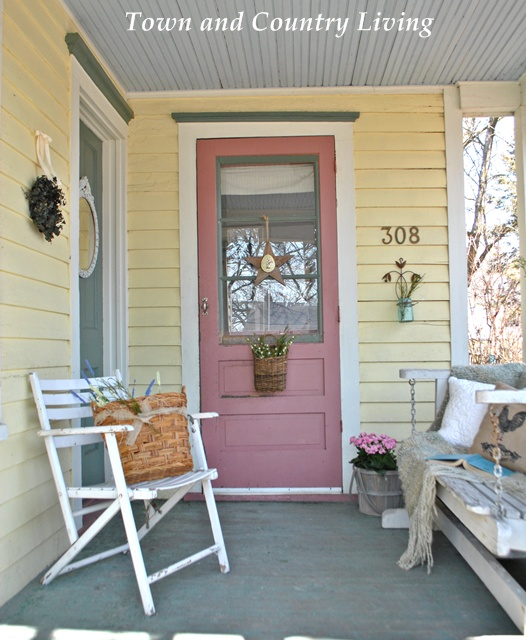 Country Front Porch Decorating Ideas: Summer 2013 Showcase Of Homes