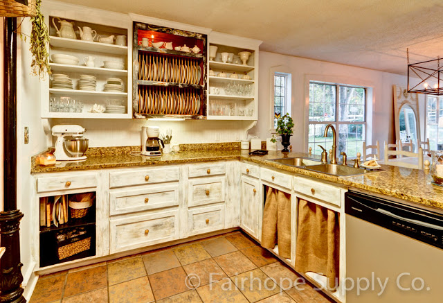 French Country Kitchen by Fairhope Supply Co