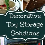 Functional and Decorative Toy Storage