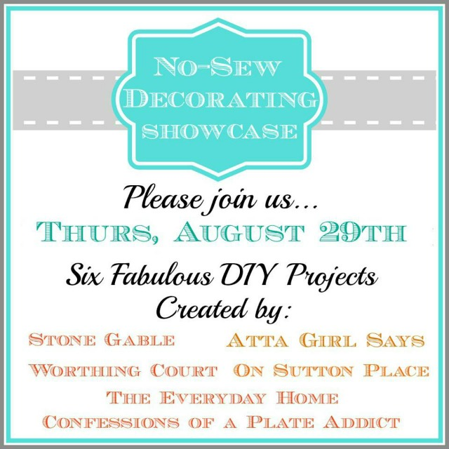 Atta Girl Says: No-Sew Decorating Showcase