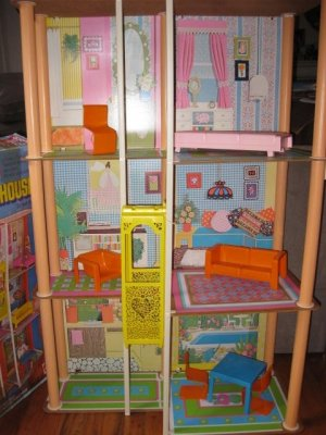 Vintage Barbie Townhouse