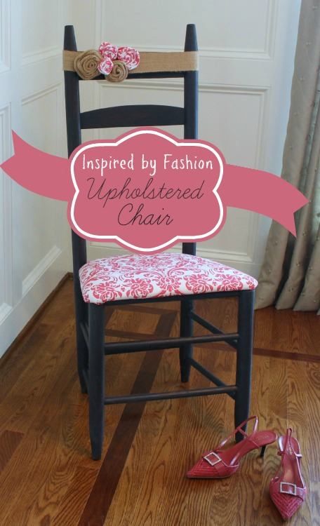 Inspired by Fashion Ladderback Chair Makeover