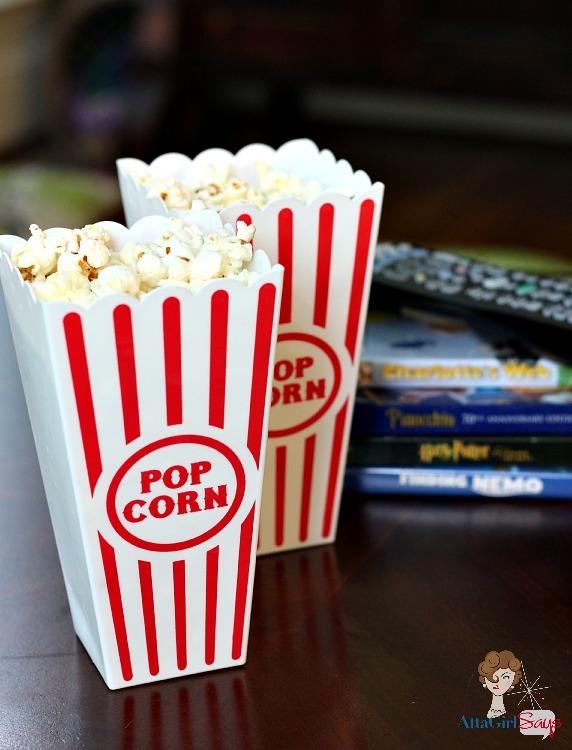 Family Movie Night Ideas and Popcorn Recipe