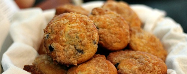 Homemade Blueberry Muffins with Cinnamon Crumb Topping + $250 Gift ...