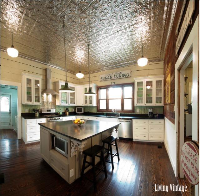 Living Vintage Vintage Kitchen Makeover