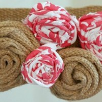How to Make Fabric Rosettes