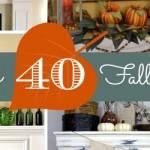 40 Fabulous Fall Mant