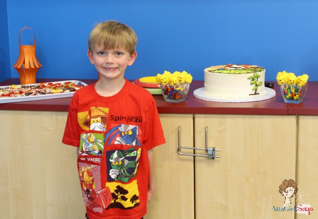 Kid-Crafted Lego Ninjago Birthday Party