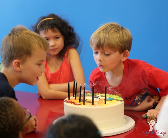 Atta Girl Says: Kid-Crafted Lego Ninjago Birthday Party