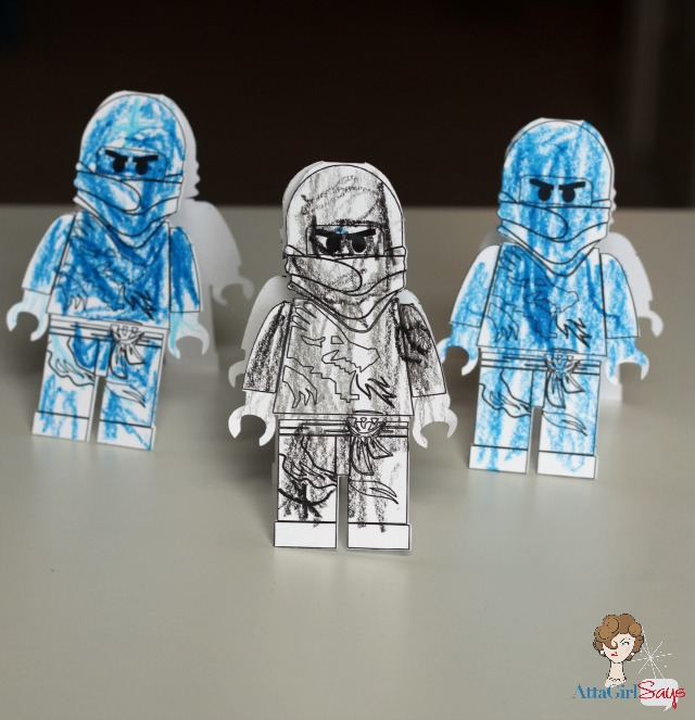 Kid-Crafted Lego Ninjago Birthday Party - Atta Girl Says