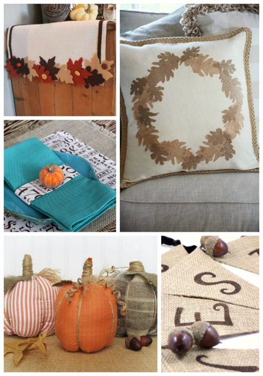 No-Sew Fall Crafts Decorating Showcase