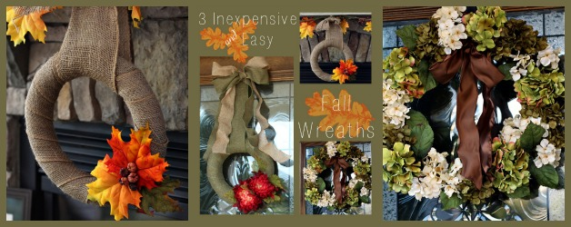 3 Easy & Inexpensive Fall Wreaths You Can Make