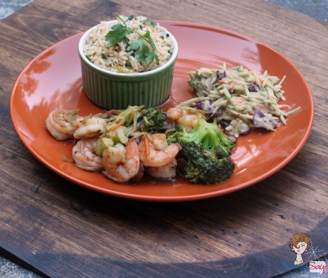 Dinner Tonight: Kraft Recipe Makers Ginger Shrimp Stir Fry #kraftrecipemakers #shop