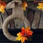Repurposed and Restyled Fall Mantel