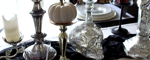 All Things Home: Gothic, Gory & Ghastly Halloween Decorating Ideas from Atta Girl Says