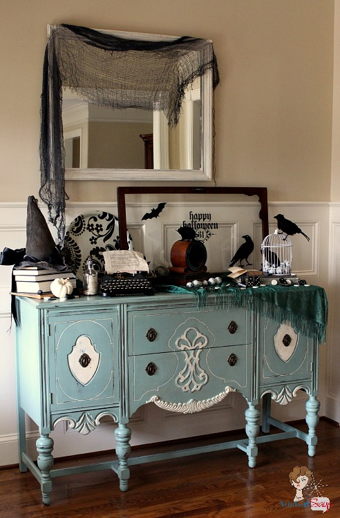 Gothic Decorating Ideas gothic, ghastly & gory: halloween decorating ideas - atta girl says
