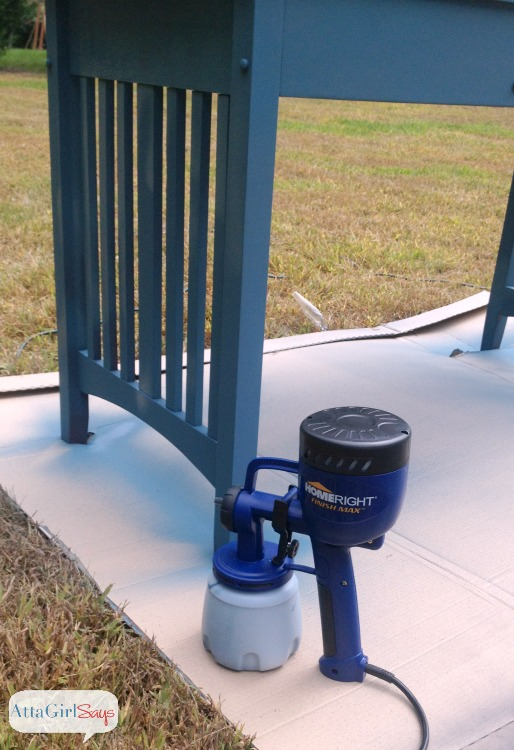 Using A Paint Sprayer With Milk And Chalk