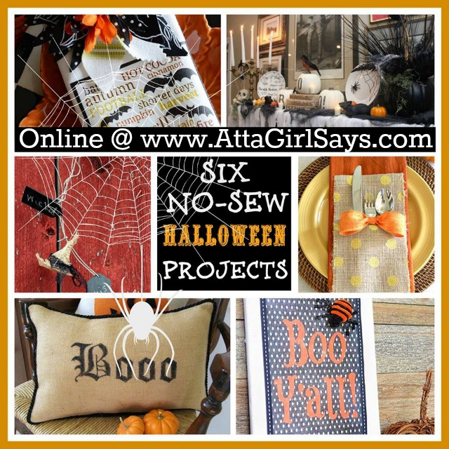 Learn How to Make Six No-Sew Halloween Crafts
