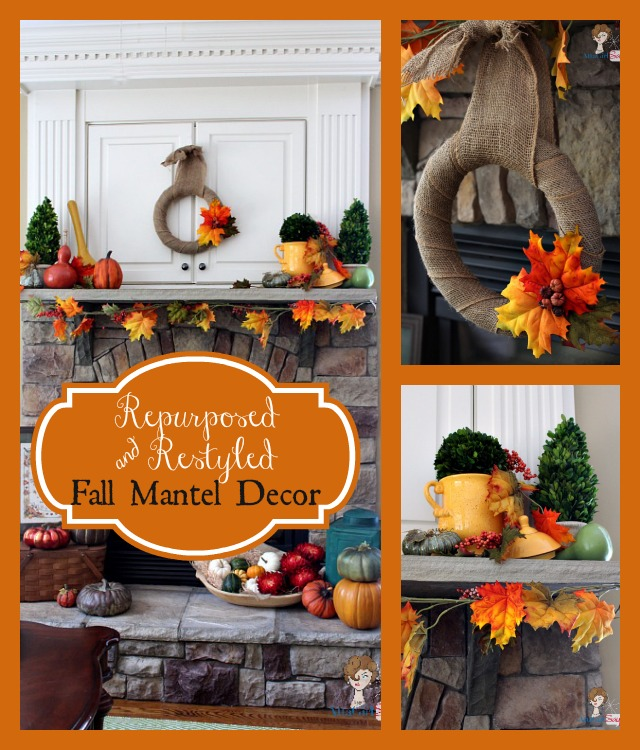 Rustic Mantel Décor That Will Adorn Your Bored To Death: 3 Easy & Inexpensive Fall Wreaths You Can Make