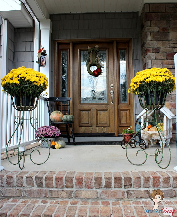 simple fall decorating ideas for the front porch - Porch Decor