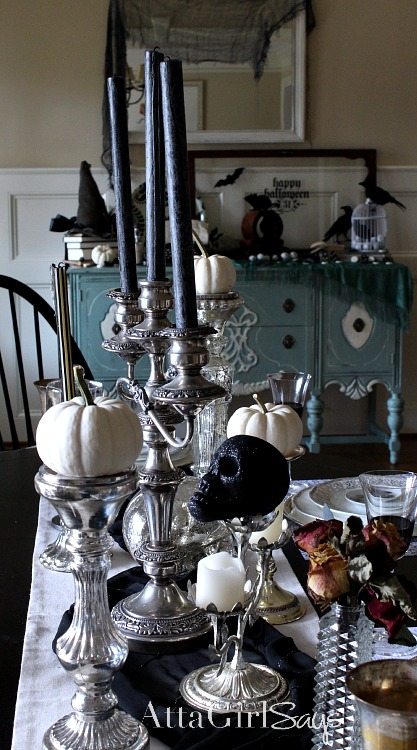 Hotel of Horrors: Macabre Halloween Decorating Ideas from Atta Girl Says