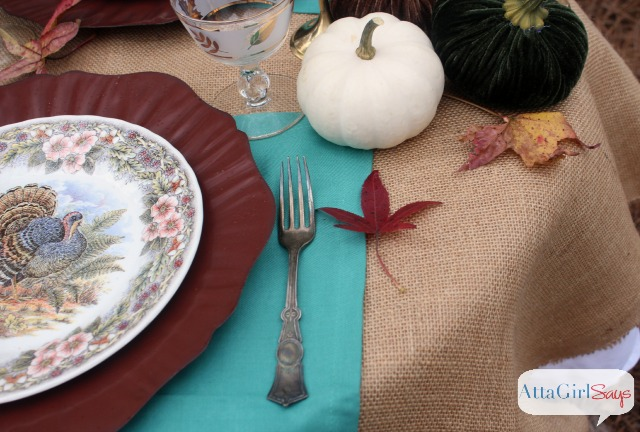 Outdoor Thanksgiving Table Decorations