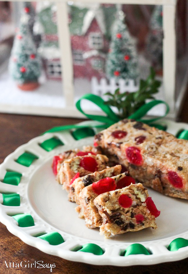 Graham Cracker Fruit Cake