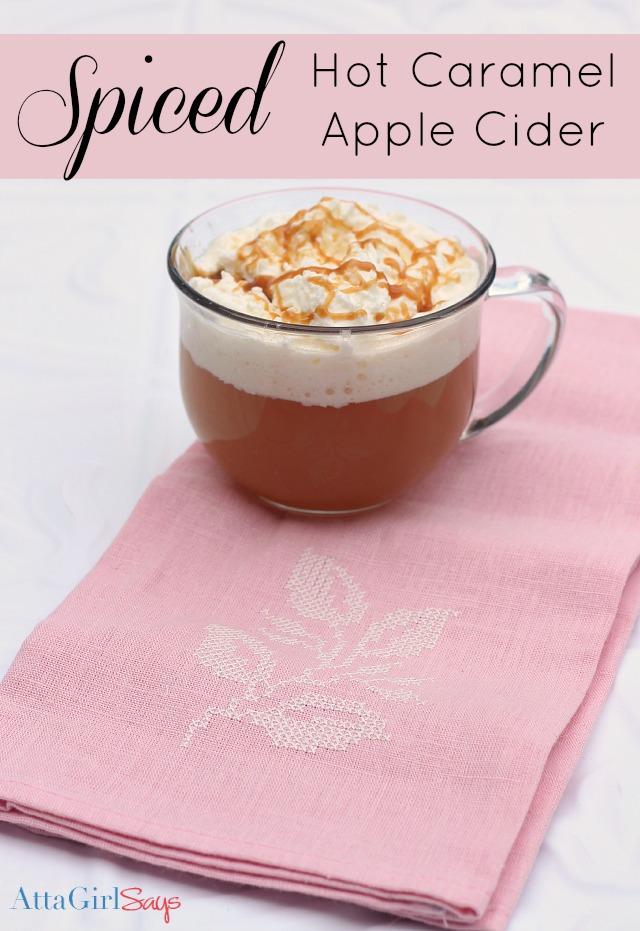 Starbucks Spiced Caramel Apple Cider Recipe