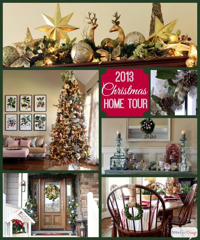 Fall Decor Ideas Canadian Bloggers Home Tour: 2013 Christmas House Tour: Hundreds Of Holiday Decorating