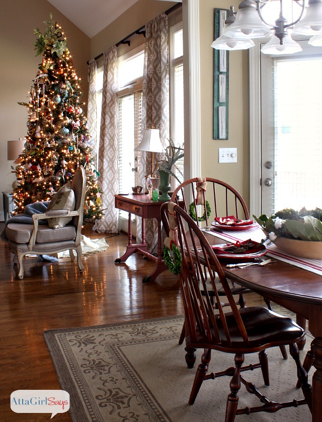 Atta Girl Says 2013 Christmas Home Tour & Holiday Decorating Ideas