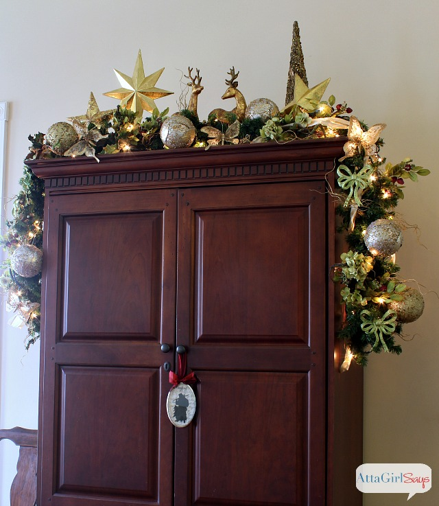 atta girl says 2013 christmas home tour holiday decorating ideas - After Christmas Decoration Sales