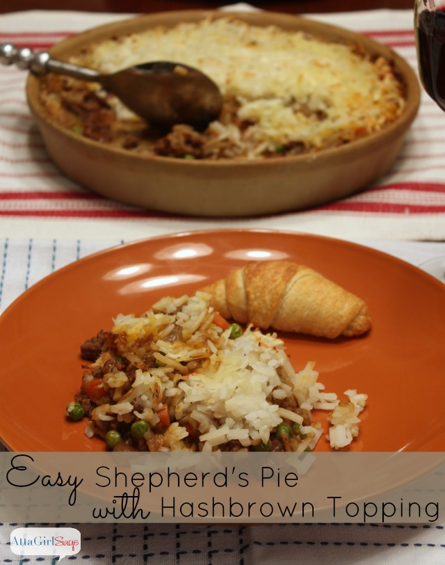 Easy Shepherd's Pie with Hashbrown Topping #oreidahashbrn #shop