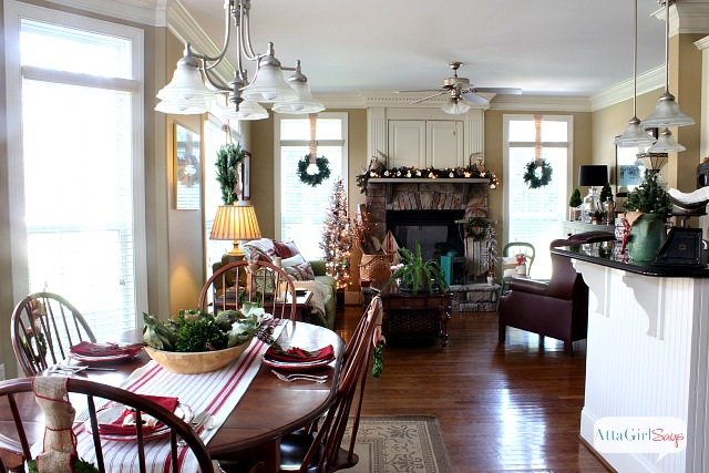 Atta Girl Says 2013 Christmas Home Tour U0026 Holiday Decorating Ideas