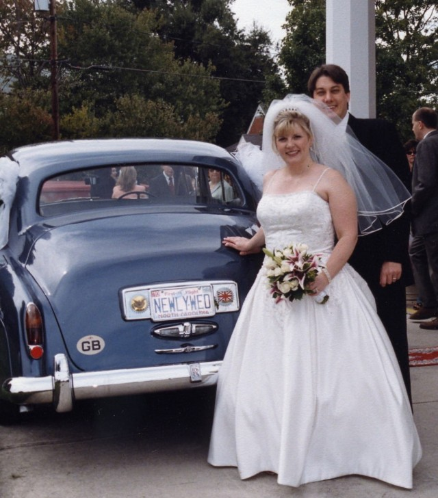 Amy & Bruce get married