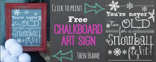 Printable Chalkboard Art You Re Never Too Old For A