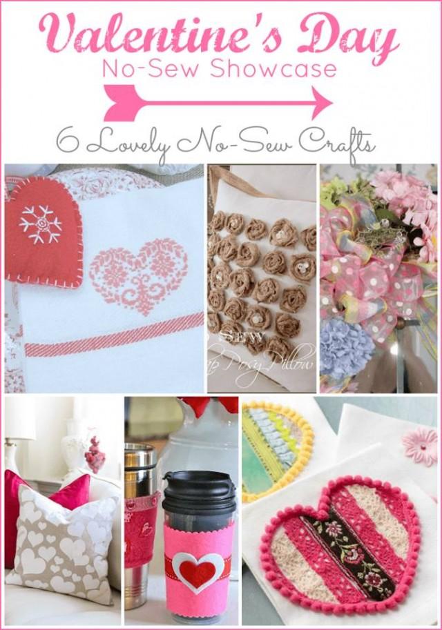 6 No-Sew Valentine's Day Crafts