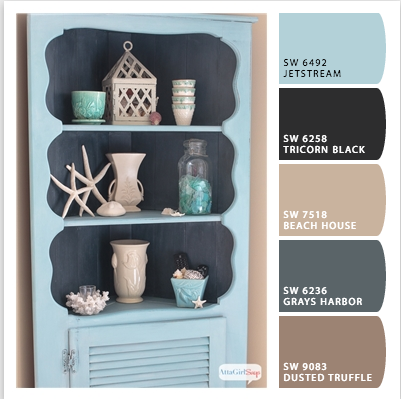 Sophisticated Coastal Color Palette