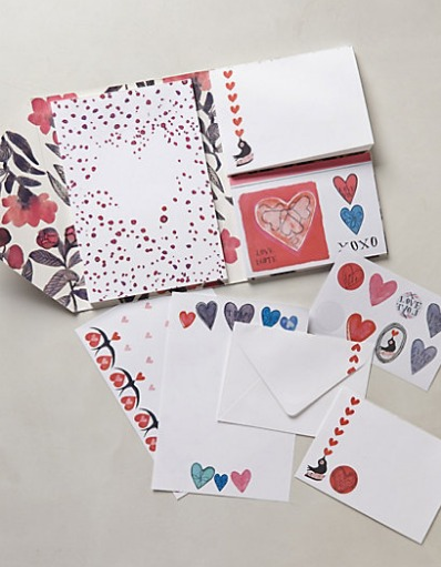 Anthropologie Love Note Kit