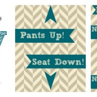 Kid Friendly Potty Humor Printables #CtnlCareRoutine #Pmedia