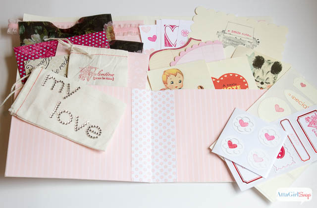 Homemade Valentines: When's the last time you sent or received a love note? I love the idea of creating a love note kit. Never miss an opportunity to tell those you love how you feel about them.
