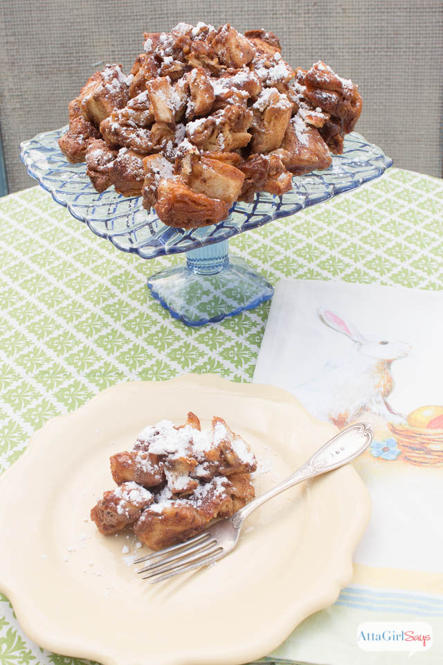 Caramel Chocolate Easy Monkey Bread Recipe #EatMoreBites #CollectiveBias