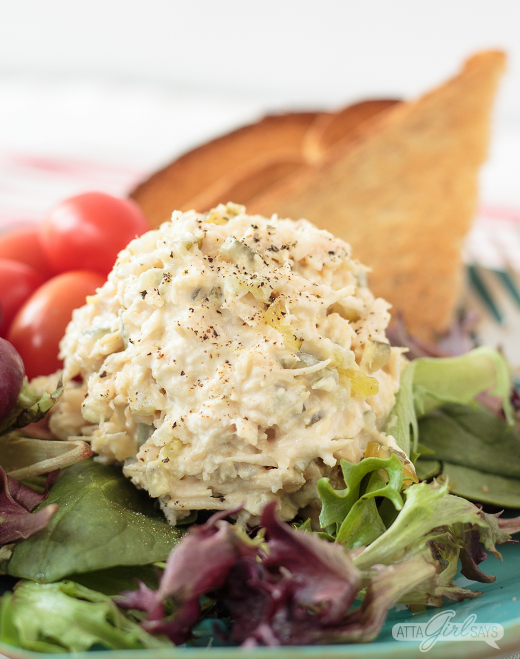 Easy chicken salad recipe only 3 simple ingredients forumfinder Gallery