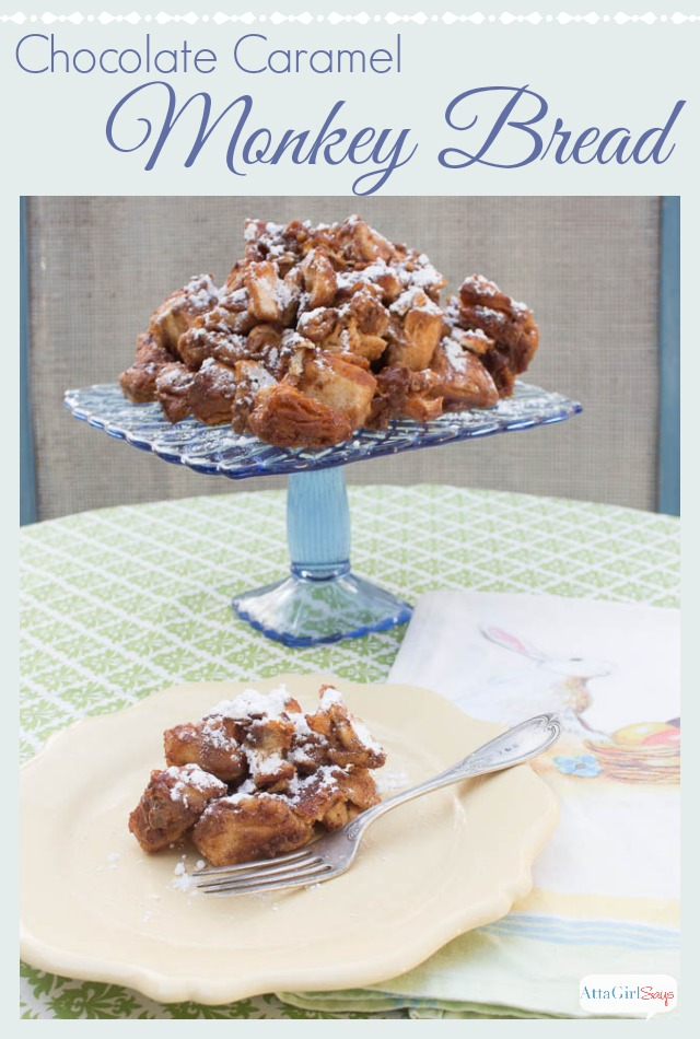 Caramel Chocolate Easy Monkey Bread Recipe