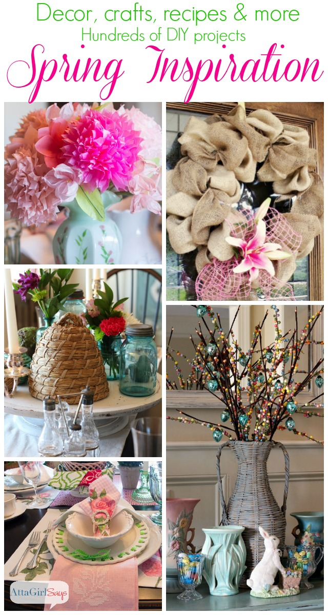 Spring Home Decorating Ideas Mega Link Party Atta Girl Says